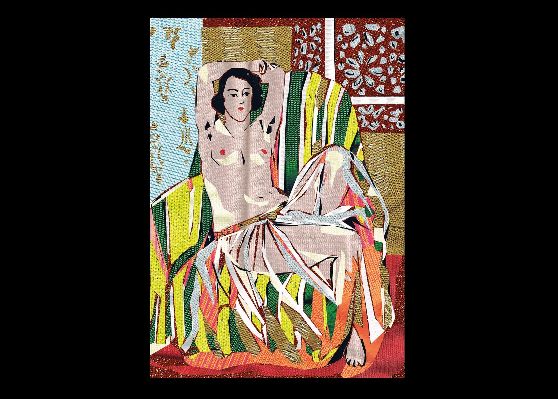 Margot Vanhassel Matisse Socks