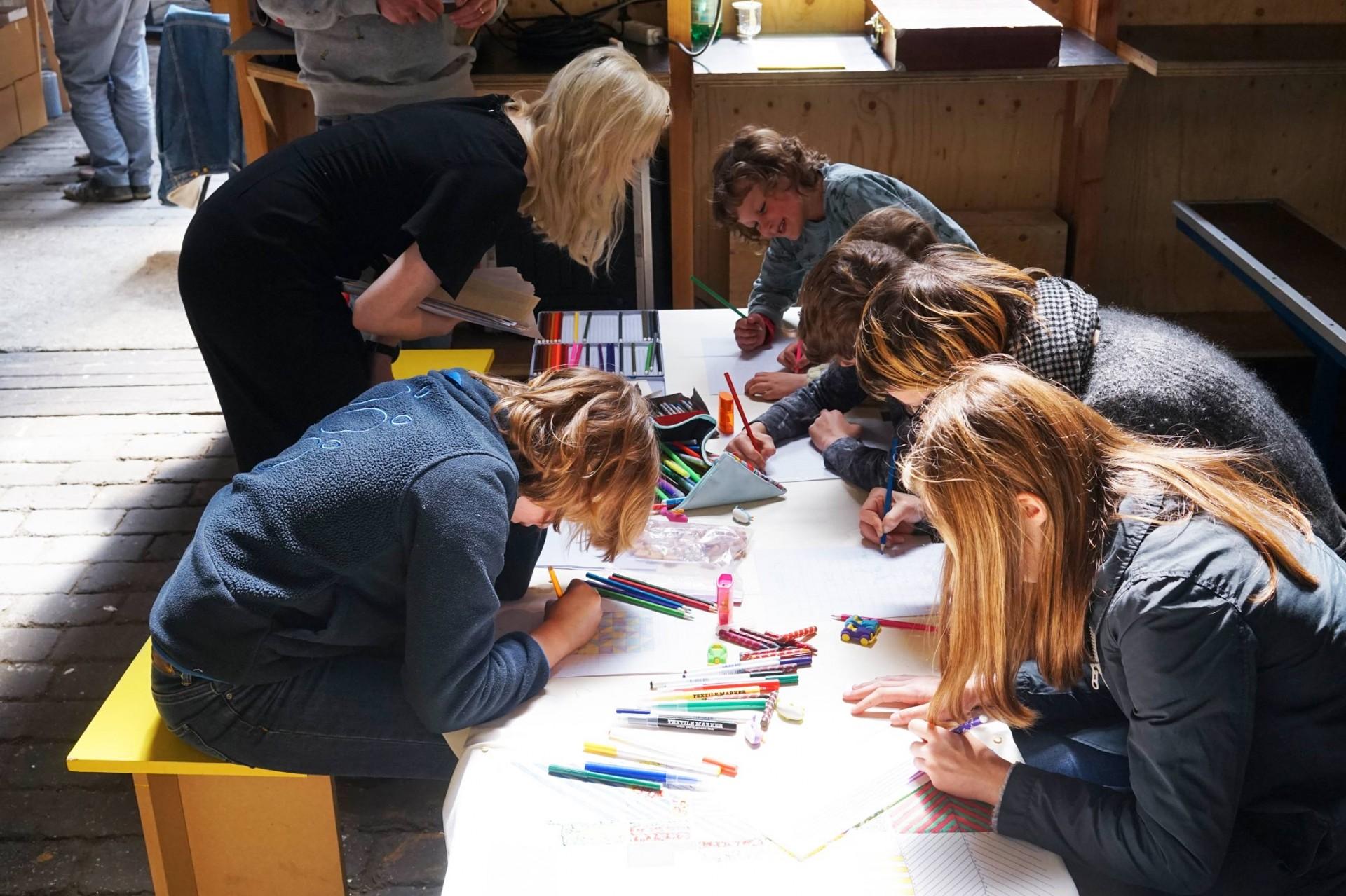 Margot Vanhassel Workshop Grid Colors